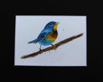 Pretty Bird In Blue