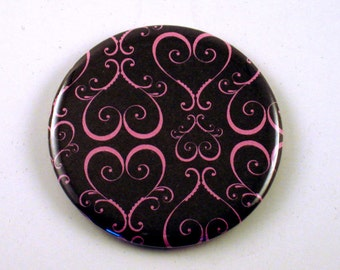 Pocket Mirror, Purse Mirror, Cosmetic Mirror  in Bliss   (PM73)