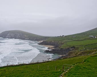 Comumeenola Beach Print Dingle Ireland