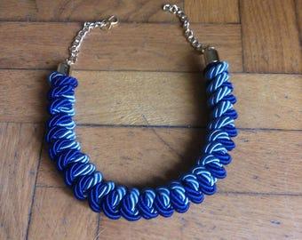 Original silk cord necklace