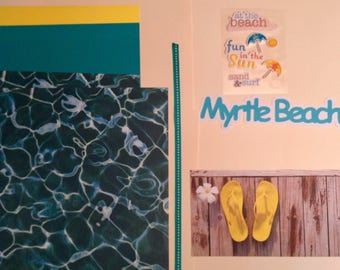 Flip Flops at Myrtle Beach Scrapbooking Kit