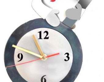 Tick Tock Female Chef Wall Clock
