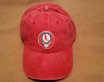 Grateful Dead Saint Louis Cardinals Hat , one size adjustable all sales final