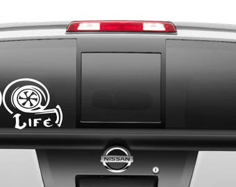 Dig Life Decal different sizes and colors