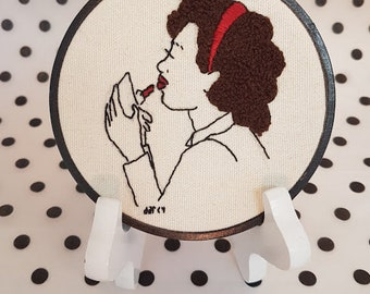 Hand embroidery - What makes her so beautiful?