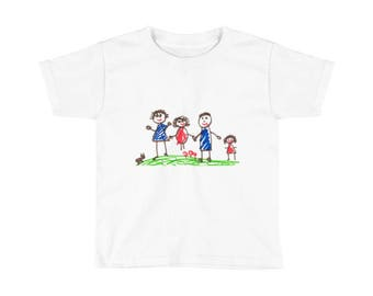 Your Child's Art, on a Shirt! Many Sizes Available. Perfect Gift for the Little Artist in your Life! Christmas is Coming!
