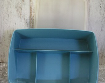 Tupperware STOW-N-GO craft, sewing, tackle, first aid kit # 767