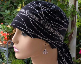 Cancer Cap Hair Loss Hat Chemo Cap Cancer Hat Adjustable and Reversible Cotton Hat MEDIUM