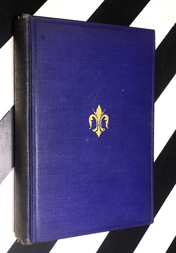 French Society in the Eighteenth Century by Louis Ducros (1927) hardcover book