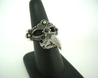 Bird Mask Ring
