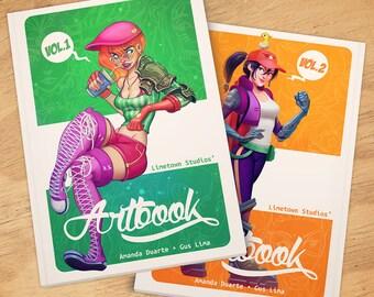 Limetown Artbooks Vol.1+2 BUNDLE