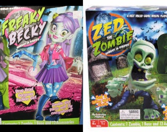 Zed the Zombie  or Freaky Becky Zombie Game
