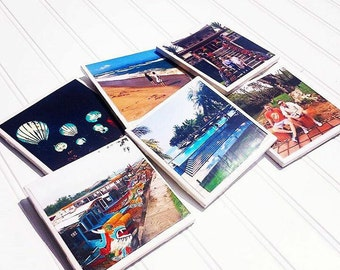 Photo Coasters - Available in Color or Black and White
