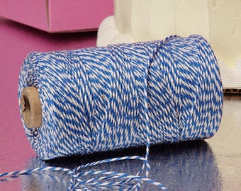 Blue & White Duo 4-ply 100% Cotton Baker's Twine (Free Shipping!)