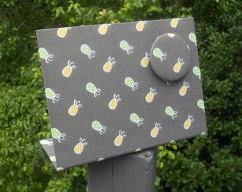 Hostess Gift, Pineapple Decor, Magnet Message Board, Shower Hostess Gift, Mojito Pineapples Mist, Wedding Shower, Desk Accessory