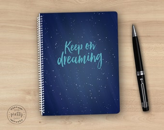 Dreams Journal - Spiral Notebook for Dreams & Inspiration