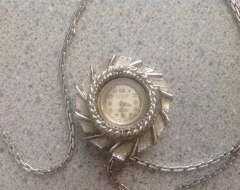 Vintage Grecian Incabloc Watch Pendant