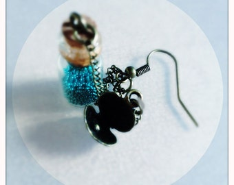 Earring Whispers Of The Sea (shell with pearl)