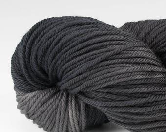 Handpainted DK weight yarn, 100% SW Merino, Spry115, 115 g, Rock Wall