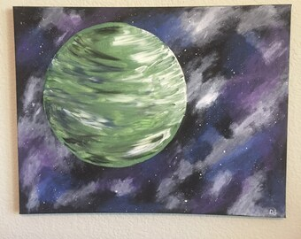 Space Painting on Canvas