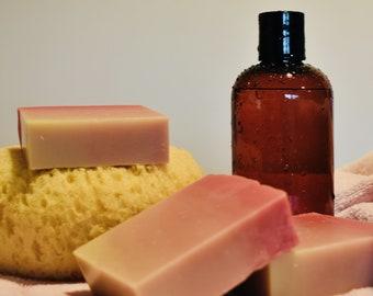 Blush Ombre Kokum Butter CP Soap