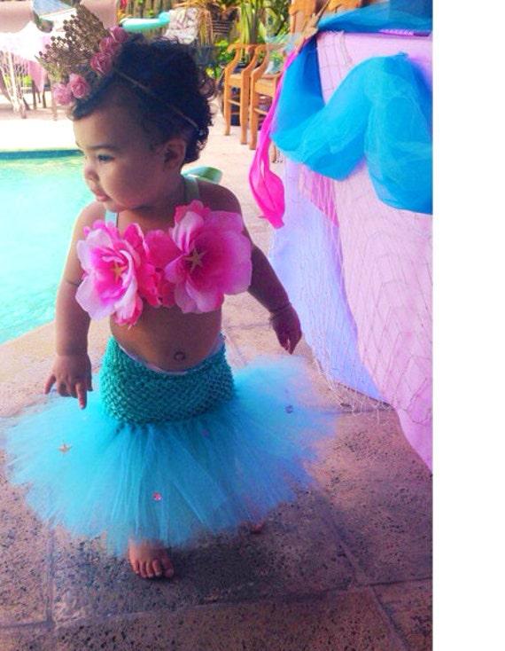 sc 1 st  Etsy & Mermaid Tutu Mermaid Little Mermaid Mermaid Costume Ocean