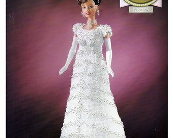 The Golden age of Film Collection  My Fair Lady  Fashion Doll  Crochet Pattern  Annies Attic 8403