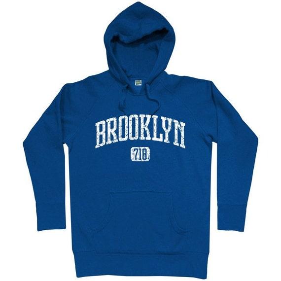 Brighton Beach Hoodie - Gothic Brooklyn NYC - Men S M L XL 2x 3x - New York City Hoody Sweatshirt - 4 Colors a0dmrli