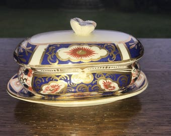 Small Vintage Condiment Dish and Tray E.M. & Co