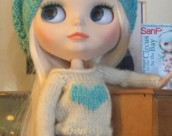 LOVE sweater with a BIG heart