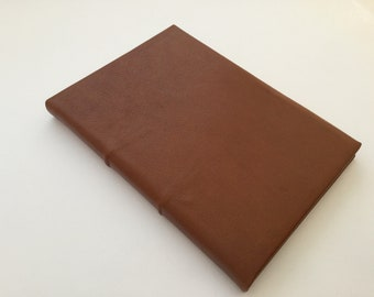 READY TO SHIP Brown Leather Journal