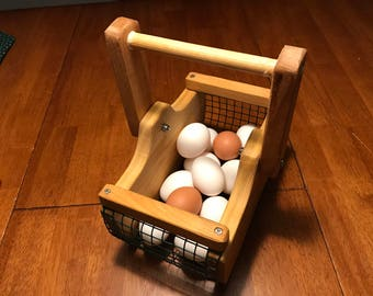 Mini Egg Gathering And Foraging Basket