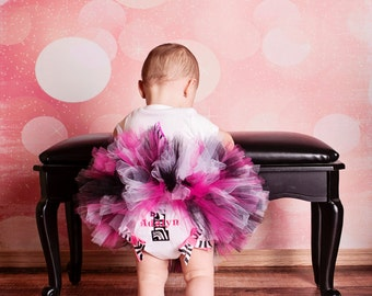 1st Birthday Baby Bloomers, Personalized Baby Bloomers, Monogram Baby Bloomers