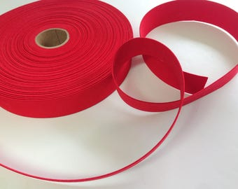 "Red Elastic, 1 3/8"" Wide Elastic, Craft and Sewing Supplies"