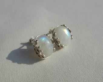 Moonstone Sterling Silver 925 earrings