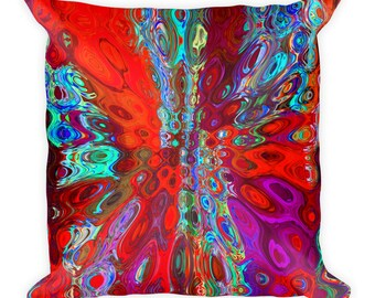 Klima Abstract Pillow