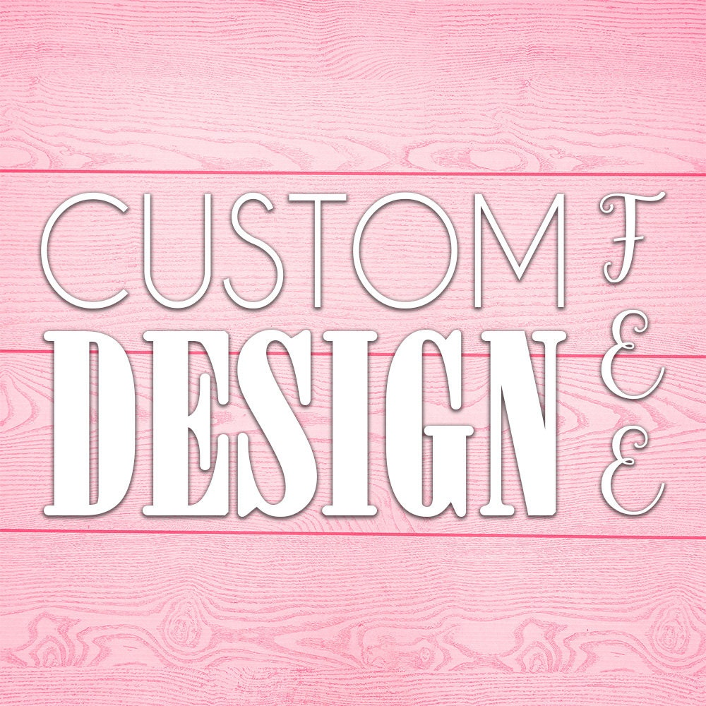Cheap Design Changes That Have: Custom Design Fee Change Color Text Pattern