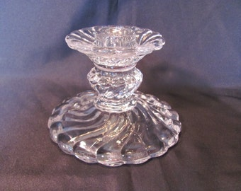 Fostoria Colony Candle Holder / Colony Candle Stick
