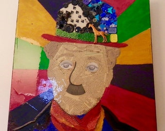 Pop Art Mixed Media - Charlie Chaplin