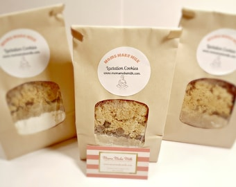 Lactation Cookie Mix Monthly Supply, Breastfeeding Cookies for Moms