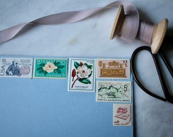 Something New | Vintage Stamps | Unused Postage Stamps | For 5 Letters | 79 Cents