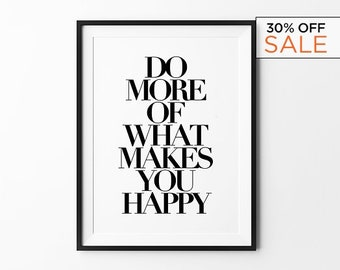 Best Selling Items, Modern Wall Art, Birthday Gift, Home Decor, Minimalist, Typography Print, Black and White Art, Large Wall Art