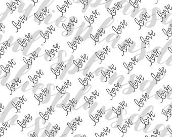 Love Paper DIGITAL DOWNLOAD