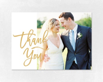 Wedding Thank you Card Template for Photographers, Wedding Photography - Photoshop Templates - Wedding Thank you Card - TK006