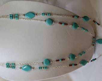 21 Inch Chalk Turquoise