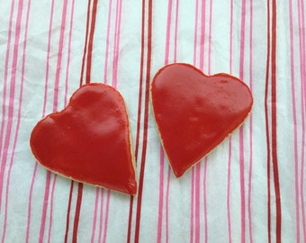 Frosted Heart Dog Treats for Valentine's Day