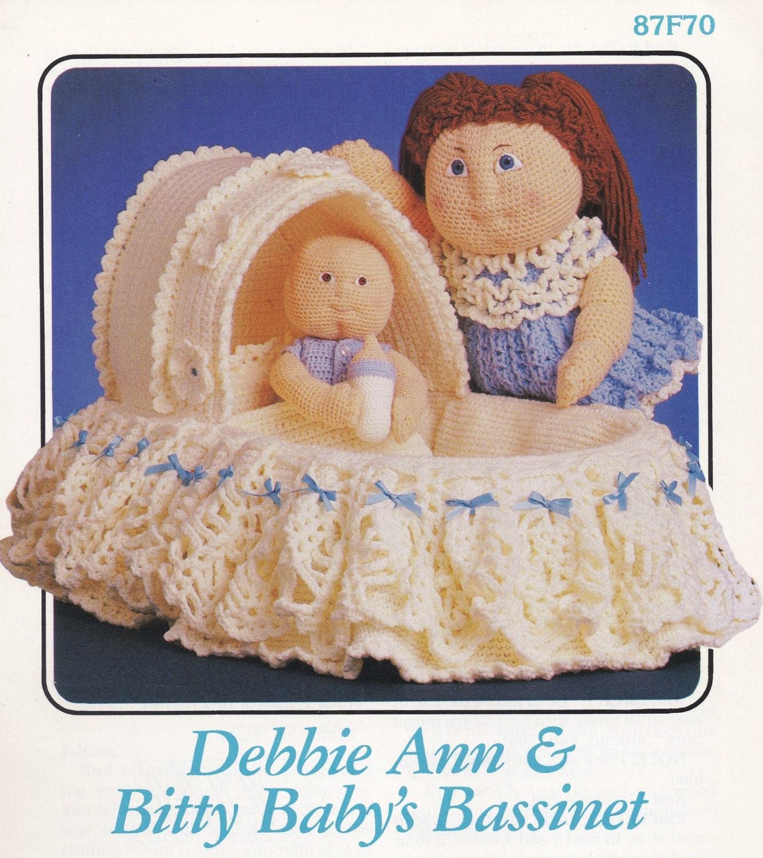 Debbie Ann & Bitty Baby Stubenwagen Annie Attic häkeln