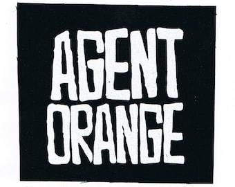Agent Orange Punk patch