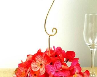 Wedding table numbers - Wedding table setting - wedding table numbers - wedding decor - wire numbers - table numbers  | ©