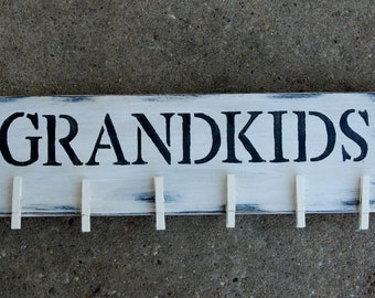Grandkids Wall Décor